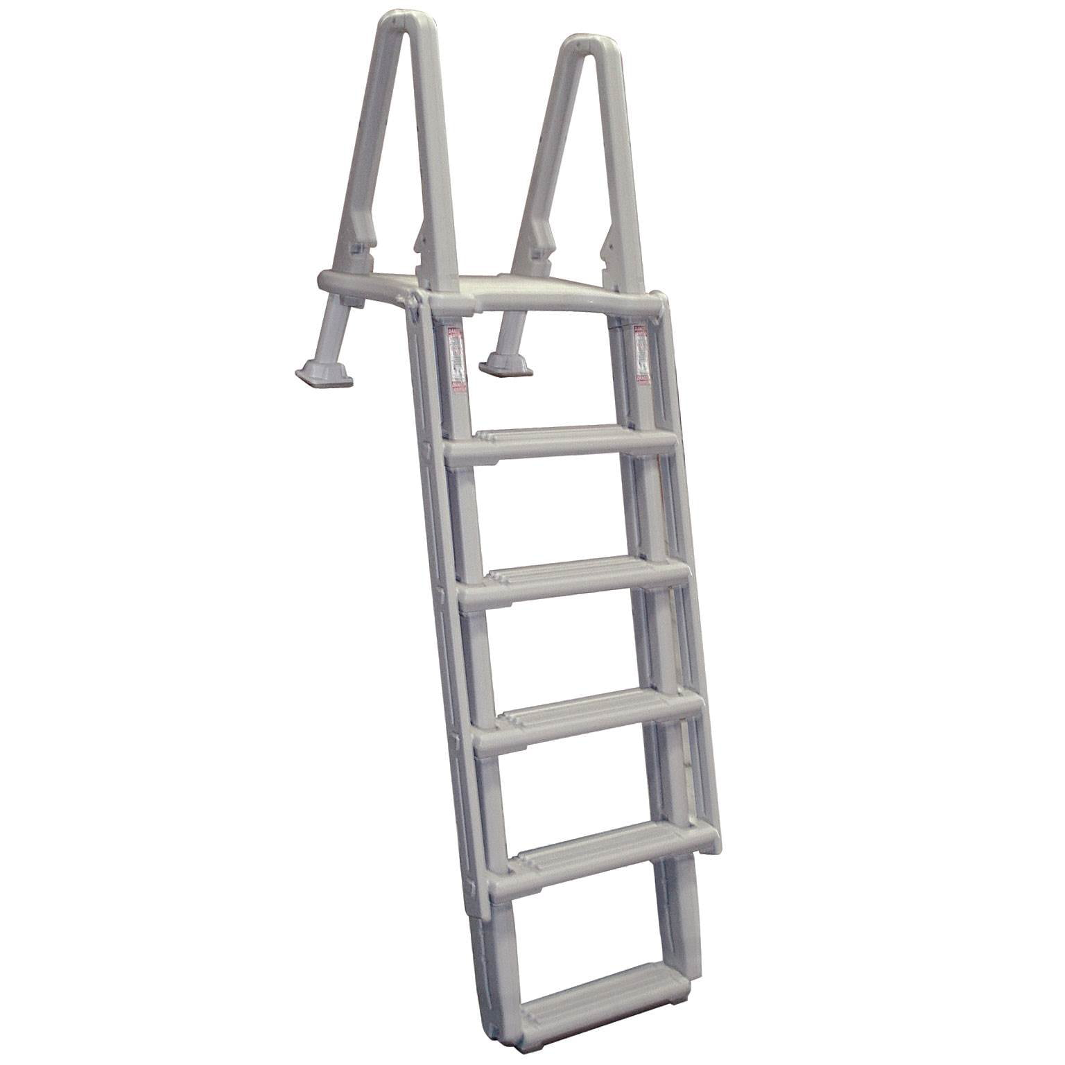 Confer Above Ground 8100X Swimming Pool Ladders Outside Steps Ladder 48-54  Inch - Walmart.com