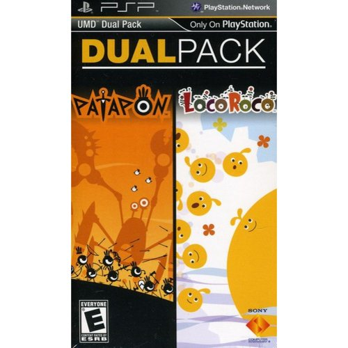 SONY PSP Dual Pack - Patapon / LocoRoco - 2 Games in 1