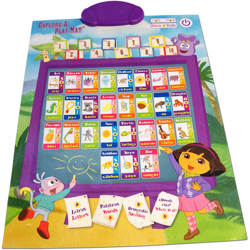 Ingenio Smart Play Dora the Explorer Explore and Play Mat