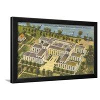 Technological Institute, Northwestern University Framed Print Wall Art