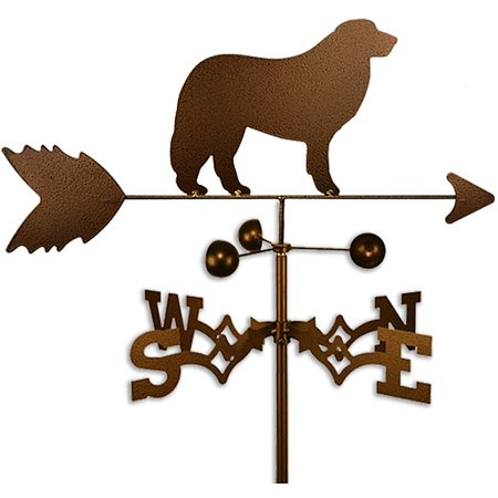 SWEN Products Inc Handmade Great Pyrenees Dog Copper Weathervane