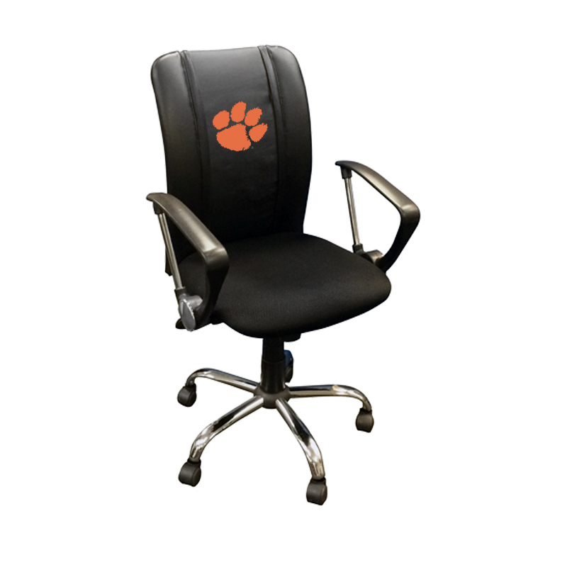 Clemson Tigers Collegiate Curve Task Chair