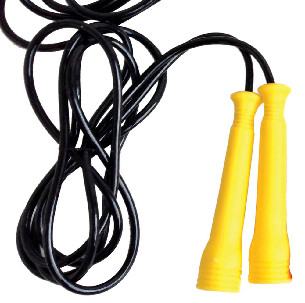 Image of Adjustable Heavy Duty Speed Jump Rope in Yellow (Yellow)