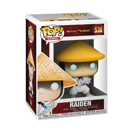 Funko POP! Games: Mortal Kombat - Raiden