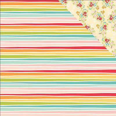 Summer Days Double Sided Cardstock 12 X12  Hello Sunshine