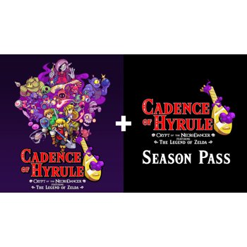 Cadence of Hyrule: Crypt of NecroDancer + Season Pass (Switch Digital)