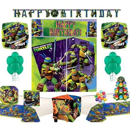 Teenage Mutant Ninja Turtles Party Supply and Balloon Bundle (Teenage Mutant Ninja Turtles Party)