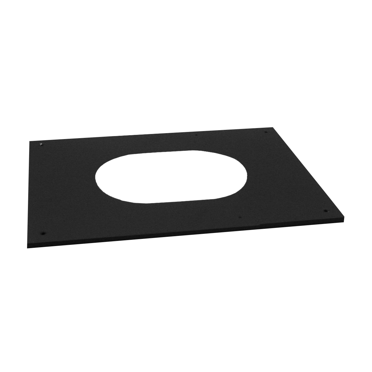 """Selkirk 6T-PCPAJ 6"""" Adjustable Pitched Ceiling Plate"""