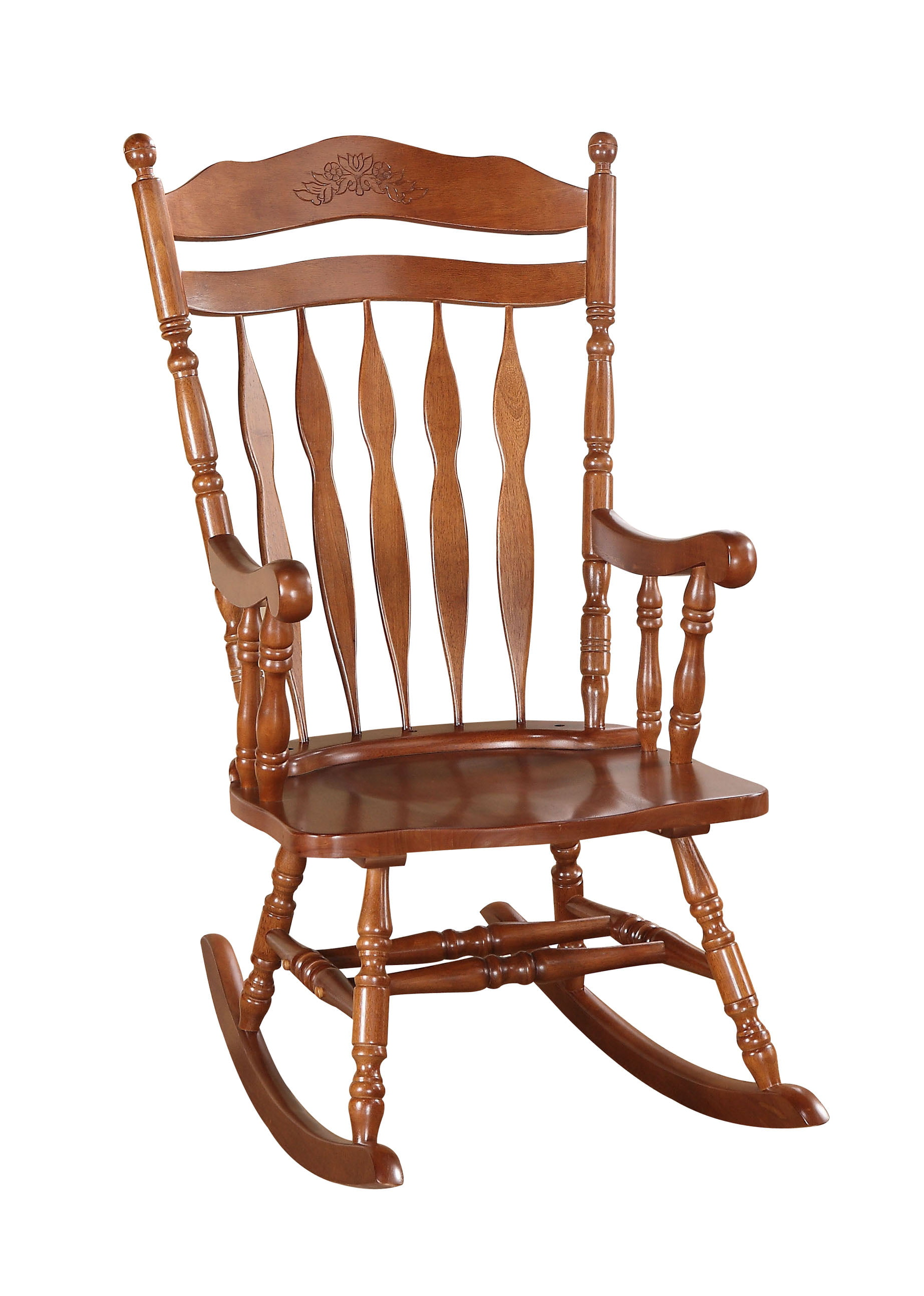 ACME Kian Rocking Chair, Dark Walnut by Acme Furniture