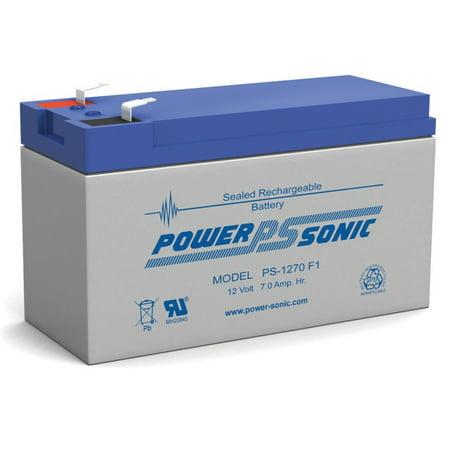 PS-1270 12 Volt 7 Amp Hour Sealed Lead Acid