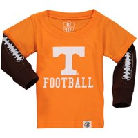 Infant Wes & Willy Tennessee Orange Tennessee Volunteers Football Fooler Long Sleeve T-Shirt