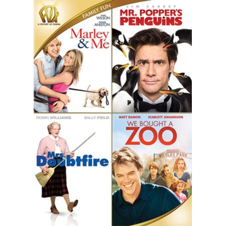 Mrs. Doubtfire / Marley & Me / We Bought a Zoo / Mr. Popper's Penguins (Suzy's Zoo Halloween)