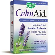 Natures Way CalmAid Non-Drowsy Clinically Studied Lavender 30 Softgels