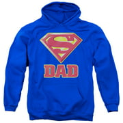 Superman - Super Dad - Pull-Over Hoodie - Small