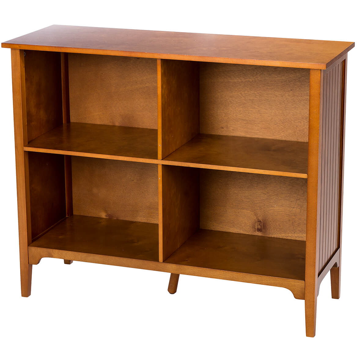 Horizontal Bookcase by OakRidgeTM - Walmart.com - Walmart.com