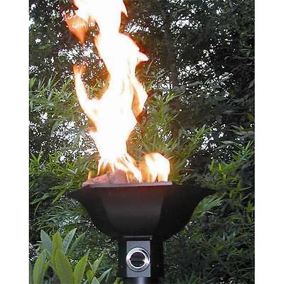 Outdoor Gaslight America West-1 GL050 Gulf Side Cast Aluminum Gas Powered Torch Head Light... by GSS