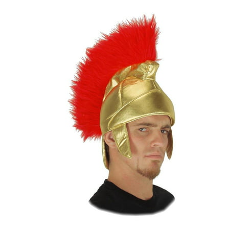 Roman Trojan Soldier Costume Helmet Adult One Size