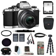 Olympus OM-D E-M10 Mirrorless Micro Four Thirds Digital Camera with 14-42mm Lens (Si