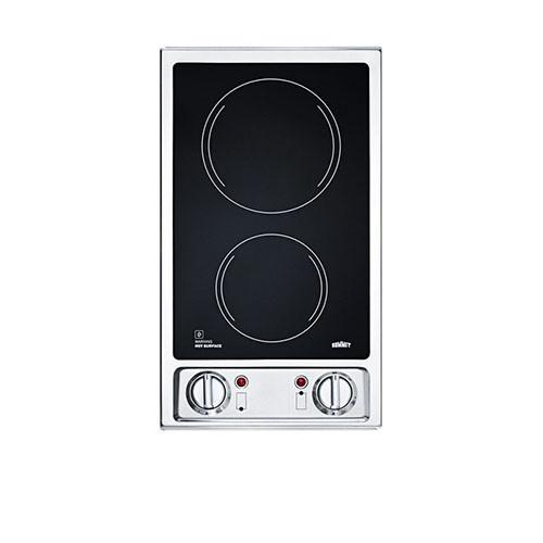 Ramblewood 2 Burner Electric Cooktop EC2-30
