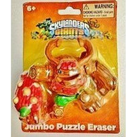 1 X Skylanders Giant Tree Rex Jumbo 3D Puzzle Eraser - 3d Erasers