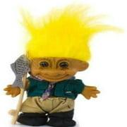My Lucky Troll FISHERMAN Troll Doll (Yellow Hair)