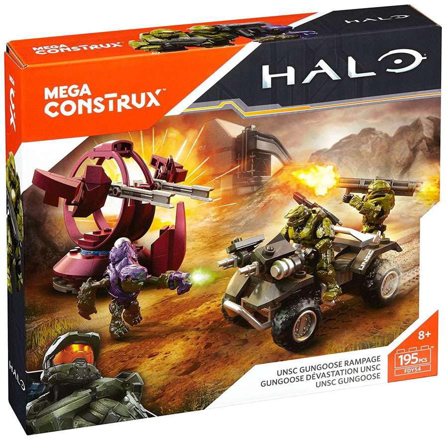 Halo Mega Construx UNSC Gungoose Rampage Set Mega Bloks FDY54 by