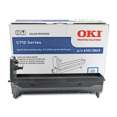 Okidata Cyan 43913803 Image Drum For C710 Series Printers Cyan (oki43913803) by
