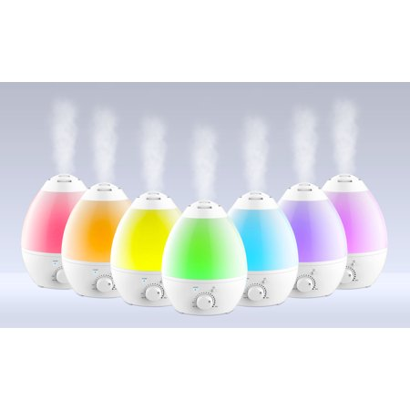Bell & Howell Color Changing Cool Mist Humidifier - 1gal