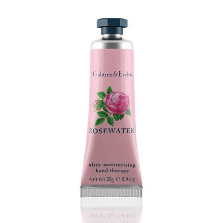 Crabtree & Evelyn Ultra Moisturising Hand Therapy Rosewater, 0.9 Oz