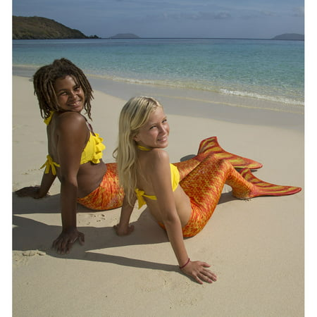 Mermaid Tails by Fin Fun Tail Skin Only - in Kids and Adult Sizes (NO MONOFIN) - image 4 de 7