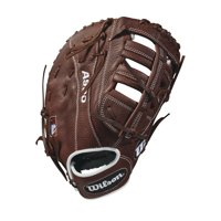 "Wilson 12"" A900 Series Baseball First Base Mitt, Right Hand Throw"