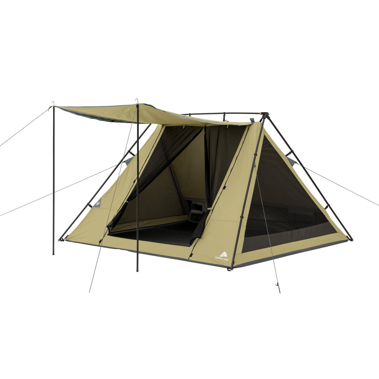 Ozark Trail 4 Person A-Frame Tent with Awning by Generic
