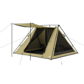 Ozark Trail WMT-080752B 4-Person A-Frame Tent with Awning