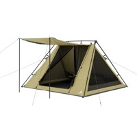 Deals on Ozark Trail 4 Person A-Frame Tent with Awning