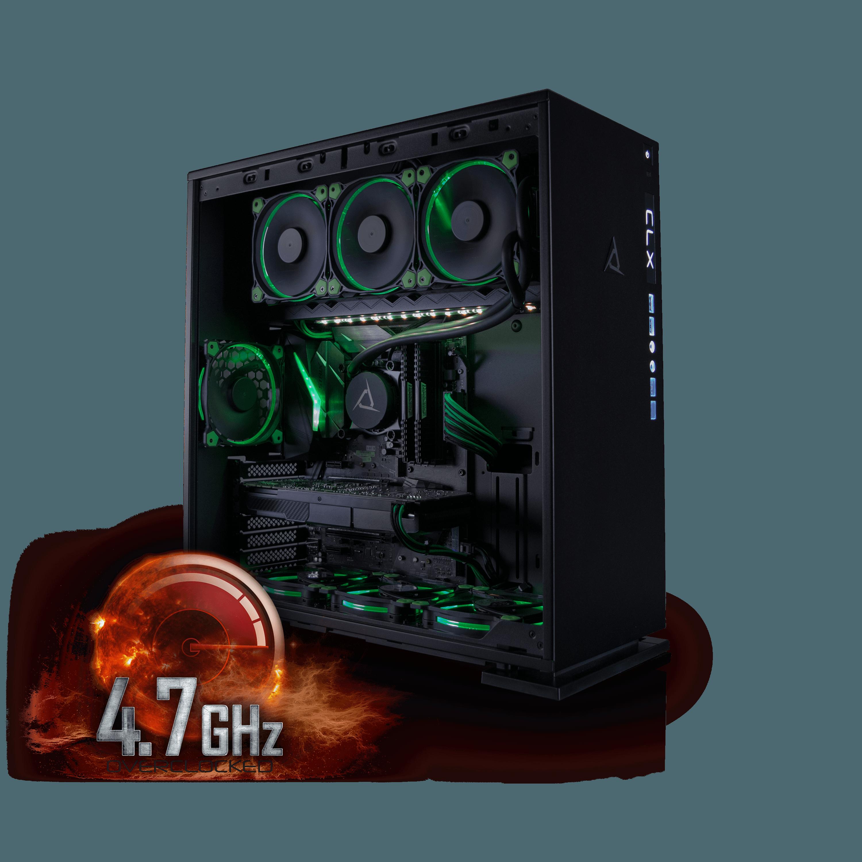Cybertron CLX Set High Performance Gaming PC Tripple-Liqu...
