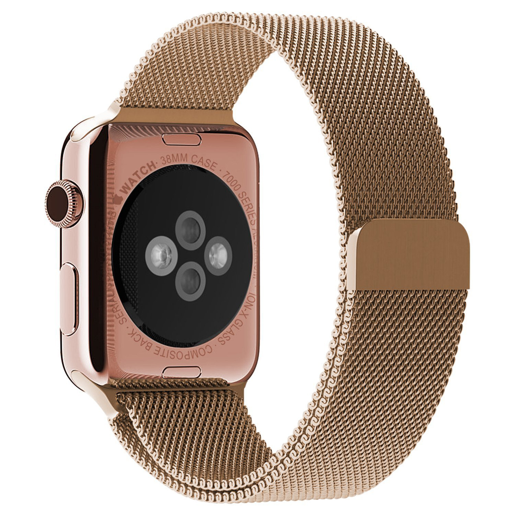 Beikel Apple Watch 3 38mm Milanese Loop Stainless Steel Bracelet Strap Band for Apple Watch Series 1 2 & 3