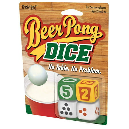 - Game - Beer Pong - Dice Drinking Game New Licensed 880