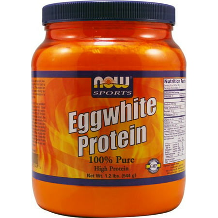 NOW Foods - Eggwhite Protéines 100% Pure - 1.2 lbs.