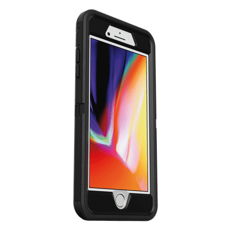 OtterBox Defender Series Pro Phone Case for Apple iPhone 8 Plus, iPhone 7 Plus - Black
