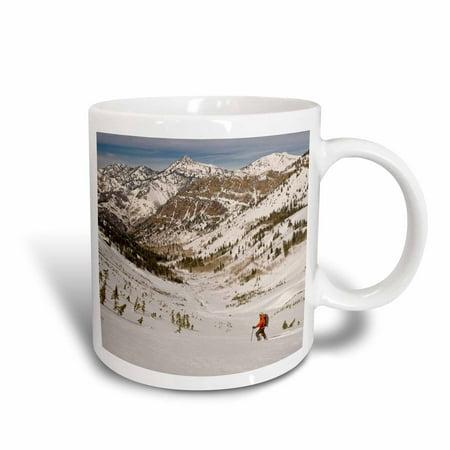 3Drose Mountain Climbing  Wasatch Mountains  Utah  Usa   Us45 Hga0338   Howie Garber  Ceramic Mug  15 Ounce
