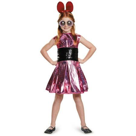 Powerpuff Girls Blossom Deluxe Child Halloween Costume (Powerpuff Girls Costumes Women)