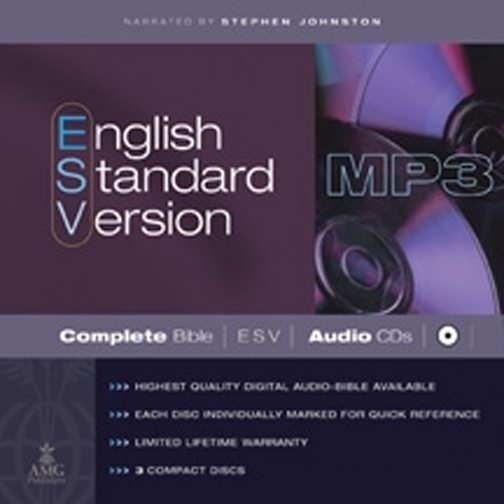 English Standard Version Complete Bible on MP3 CDs : ESV Edition