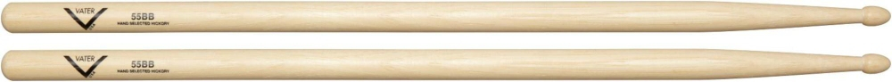 Vater American Hickory 55BB Drumsticks Wood by Vater