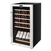 Whynter 34 Bottle Single Zone Freestanding Wine Cooler