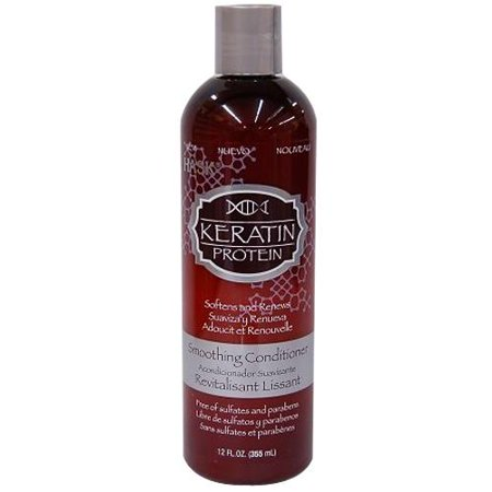 Wheat Protein Conditioner - Hask Keratin Protein Smoothing Conditioner, 12.0 FL oz