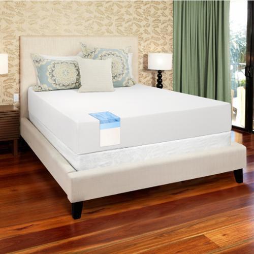 Select Luxury  12-inch King-size Medium Firm Gel Memory Foam Mattress