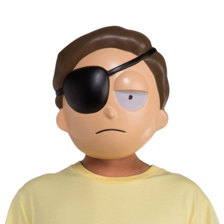 Rick and Morty Morty w/ Eye Patch Adult Costume - Rick And Morty Halloween Costume Ideas