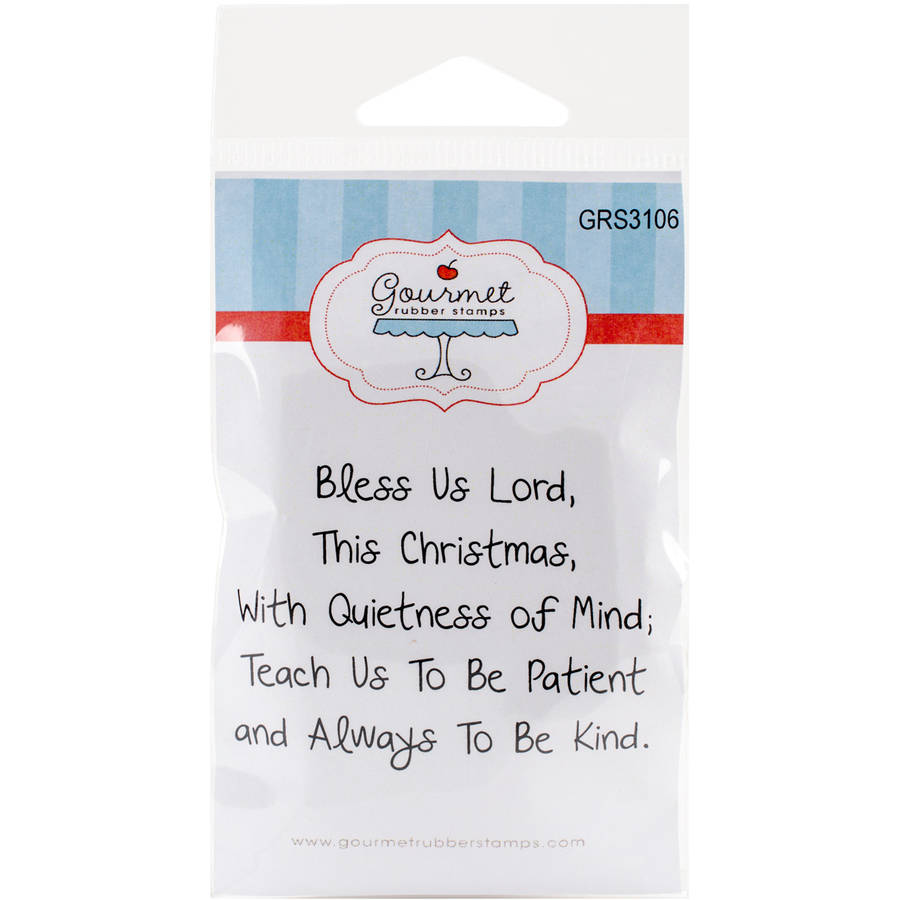 Gourmet Rubber Stamps Cling Stamps 2.75""