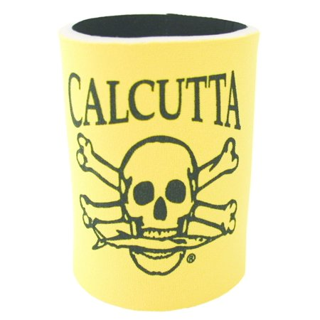 Calcutta CCCYL Can Cooler Yellow w/Blk Logo Logo Small Cooler