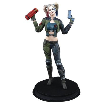 DC Injustice 2 Harley Quinn Collectible Statue [Green Costume] - Halloween Preview